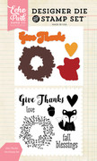 Give Thanks Die/Stamp Set