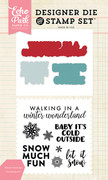 Winter Greetings Die/Stamp Set