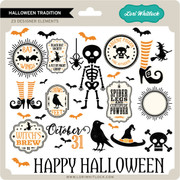 Halloween Tradition Elements