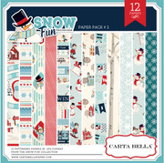 Snow Fun Paper Pack #2