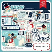 Snow Fun Element Pack #3