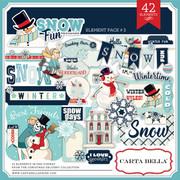 Snow Fun Element Pack #3
