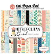 Metropolitan Girl 6x6 Paper Pad