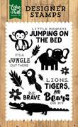 It's A Jungle 4x6 Stamp