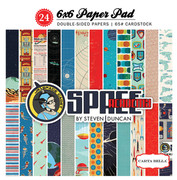 Space Academy 6x6 Paper Pad