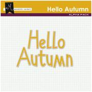 Hello Autumn Alpha Pack
