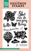 Do Amazing Things 4x6 Stamp