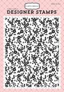 Botanical A2 Background Stamp