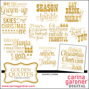 Golden Quotes - Christmas #2 Edition