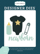 Newborn Necessities Die Set