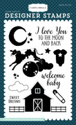 To the Moon & Back 4x6 Stamp