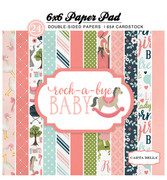 Rock-a-Bye Baby Girl 6x6 Paper Pad