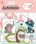 Rock-a-Bye Baby Girl Frames & Tags Ephemera