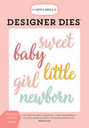 Sweet Little Girl Die Set