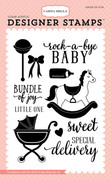 Rock-a-Bye Baby Stamp