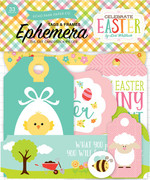 Celebrate Easter Frames & Tags Ephemera