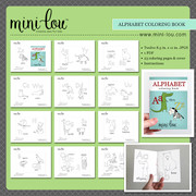 Alphabet Coloring Book Printable