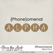 {Phone}omenal Alpha Pack
