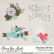 Flurries Of Fun Finishing Touches