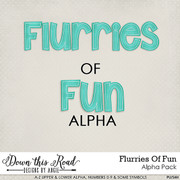 Flurries Of Fun Alpha Pack