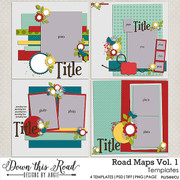 Road Maps Vol. 1 Templates
