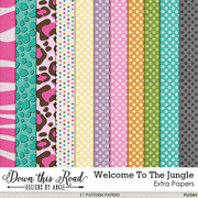 Welcome To The Jungle Extra Paper Pack