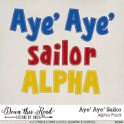 Aye' Aye' Sailor Alpha Pack