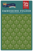 Once Upon A Time Prince Embossing Folder - Fleur-de-Lis