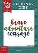 Courageous Word Die Set