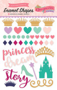 Once Upon A Time Princess Enamel Shapes