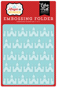 Magic & Wonder Embossing Folder - Magical Castles