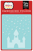 Magic & Wonder Embossing Folder - Starry Castle