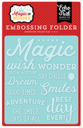 Magic & Wonder Embossing Folder - Wish Upon A Star