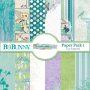 Enchanted Garden Paper Pack 1