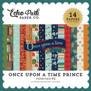 Once Upon a Time Prince Paper Pack #2