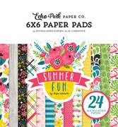 Summer Fun 6x6 Paper Pad