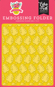 Summer Fun Embossing Folder - Perfect Palm