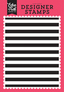 Cabana Stripe A2 Background Stamp