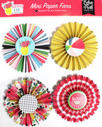 Summer Fun Mini Paper Fans