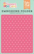 Summer Dreams Embossing Folder - Sunny Dot