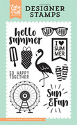 I Heart Summer Stamp