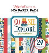Go See Explore 6x6 Paper Pad