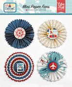Go See Explore Mini Paper Fans