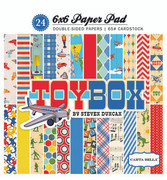 Toy Box 6x6 Paper Pad