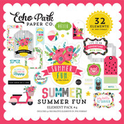 Summer Fun Element Pack #4