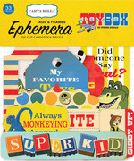 Toy Box Frames & Tags Ephemera