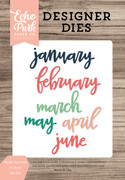 Script January to June Die Set