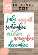 Script July to December Die Set