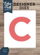 Letter C Die Set