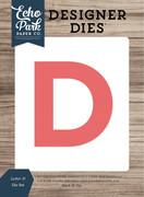 Letter D Die Set